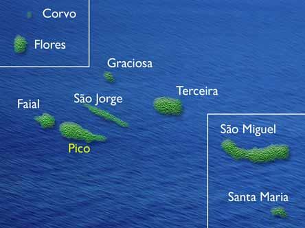 mapa do arquipelago dos acores Mapa Arquipelago Dos Açores | thujamassages mapa do arquipelago dos acores